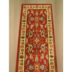 Pat Mahal Oriental Red Rug (2' x 7'3) - Thumbnail 2