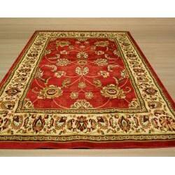 Pat Mahal Oriental Red Rug (3'3 x 4'6) - Thumbnail 2