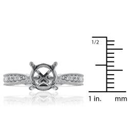 14kt White Gold 1/2ct TDW Diamond Engagement Ring - Thumbnail 2