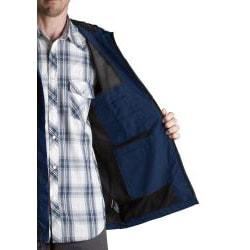 Dickies Mens' Dark Navy Waterproof Breathable Jacket - Thumbnail 2