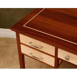Wood Revival Natural Maple Poet's Desk