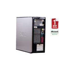 Dell Optiplex 760 Intel Core 2 Quad 2.4GHz CPU 4GB RAM 500GB HDD Windows 10 Pro Minitower Computer (Refurbished) - Thumbnail 2
