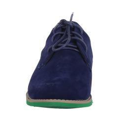 XICA by Beston Women's 'Joe-01' Blue/ Green Oxfords - Thumbnail 2