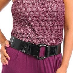 Stanzino Women's Plus Sequin Strapless Jumpsuit with Belt - Thumbnail 2