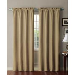 Shanna Blackout Foamback 84 inch Curtain Panel
