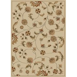Admire Home Living Amalfi Floral Vines Area Rug (21 x 34) - Thumbnail 2