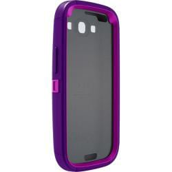 OtterBox Defender Boom Purple Protective Case for Samsung Galaxy S3 S III i9300 With Car Charger, Velcro Tie - Thumbnail 2