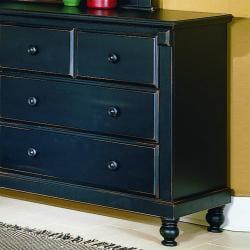 Macedonia Black Dresser/ Mirror - Thumbnail 2