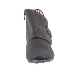 Blossom by Beston Women's 'Amar-22' Black Ankle Booties - Thumbnail 2