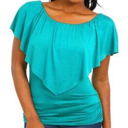 Stanzino Women's Ruffle Layer Top
