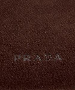6b057a750414 Shop Prada Women's Brown Suede Wallet - Free Shipping Today ...