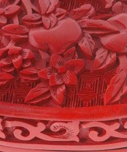 Cinnabar Heart Jewelry Box (India) - Thumbnail 2