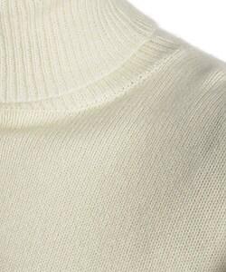 Ralph Lauren Men's Cream Cashmere Turtleneck