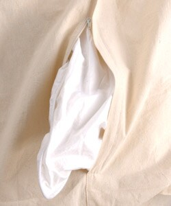 Natural Linen Queen Duvet Cover Set (India) - Thumbnail 2