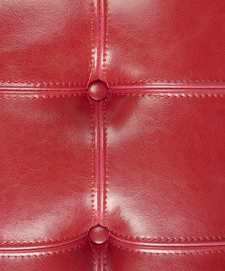 Barcelona Style Red Leather Chair