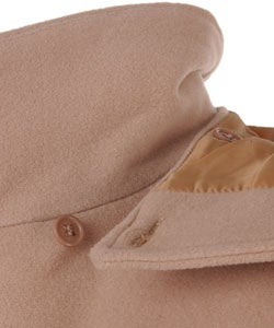 Kenneth Cole Hooded Woolen Coat