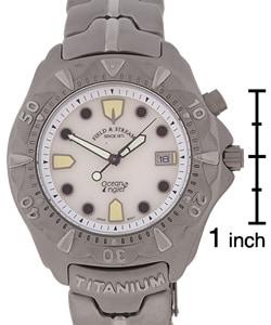 Field & Stream Ocean Angler Men's Titanium Watch - Thumbnail 2