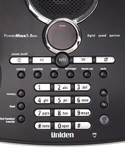 Uniden PowerMax 5.8GHz Dual Handset Cordless Phone (Refurbished)