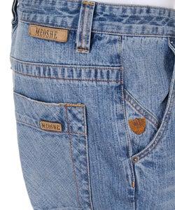 Meoshe Men's Basic Denim Jeans