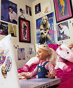 Cindy Smart :  The First Doll to See and Talk