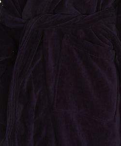 Oversized Terrycloth Bath Robe - Thumbnail 2