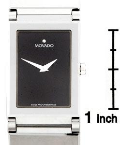 Movado Valor Men's Black Tungsten Bracelet Watch - Thumbnail 2