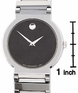 Movado Valor Men's Silvertone Watch - Thumbnail 2