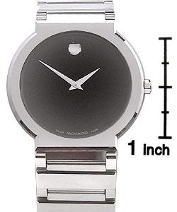 Movado Valor Men's Black Dial Tungsten Watch
