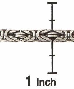 Sterling Silver Bali-style Toggle Bracelet - Thumbnail 2