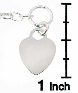 Journee Sterling Silver Heart Toggle Bracelet/ Necklace Set - Thumbnail 2