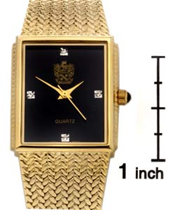 paolo gucci men s goldtone dress watch shipping on orders paolo gucci men s goldtone dress watch