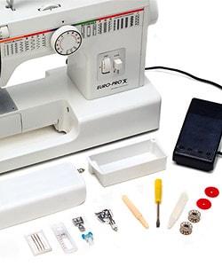Thumbnail 3, Euro Pro Mechanical 30 Stitch Sewing Machine. Changes active main hero.