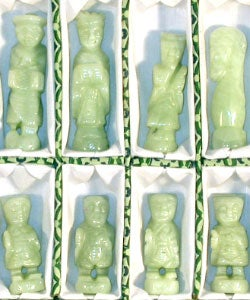 Hand-carved Jade Chess Set - Thumbnail 2