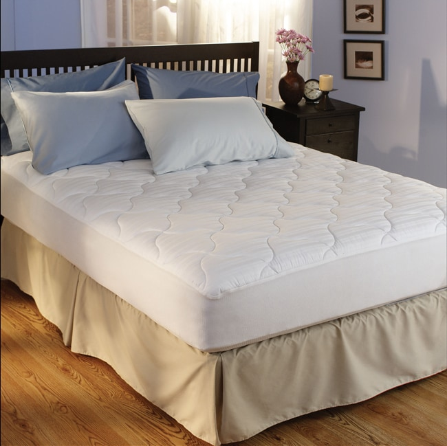 Hotel 500 Thread Count Egyptian Cotton Plush Mattress Pad