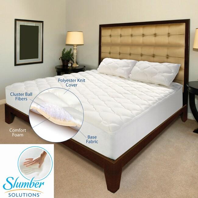 Slumber Solutions Regency 4-layer 2-inch California King-size Mattress Topper