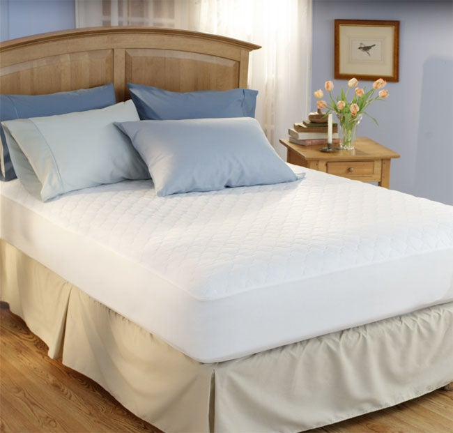 Waterproof Mattress Pad Free Shipping On Orders Over 45  : Mattress Pads Waterproof Mattress Pad 753015 JL955993 from www.overstock.com size 650 x 621 jpeg 34kB