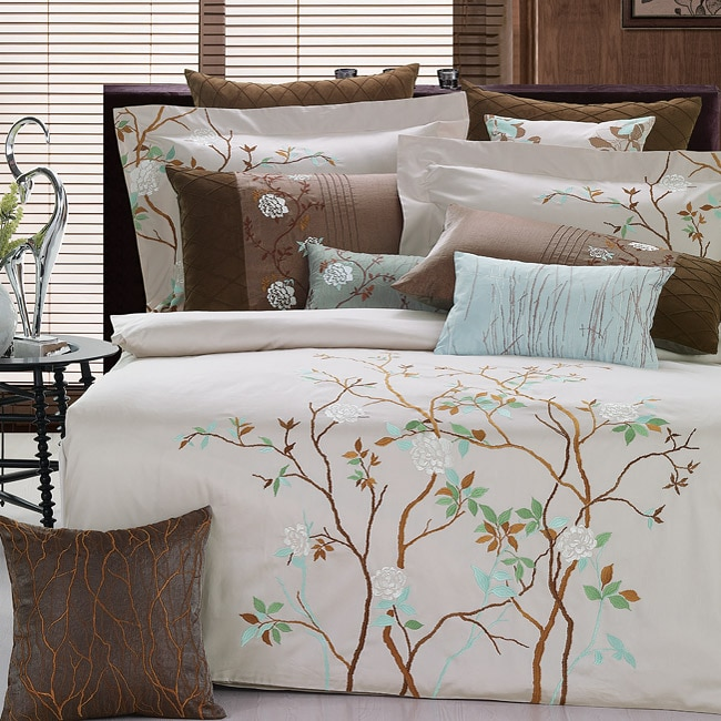 Mayfield Embroidered 3-piece Duvet Cover Set