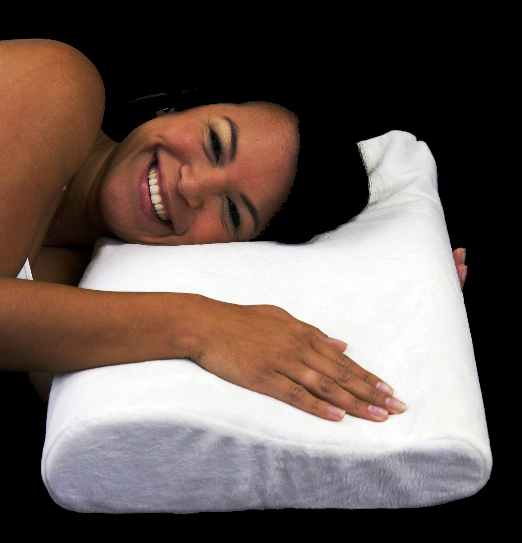 Soft Ergonomic Contour Visco Memory Foam Pillow - Thumbnail 0