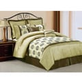 Metro Embroidered 8-piece Comforter Set