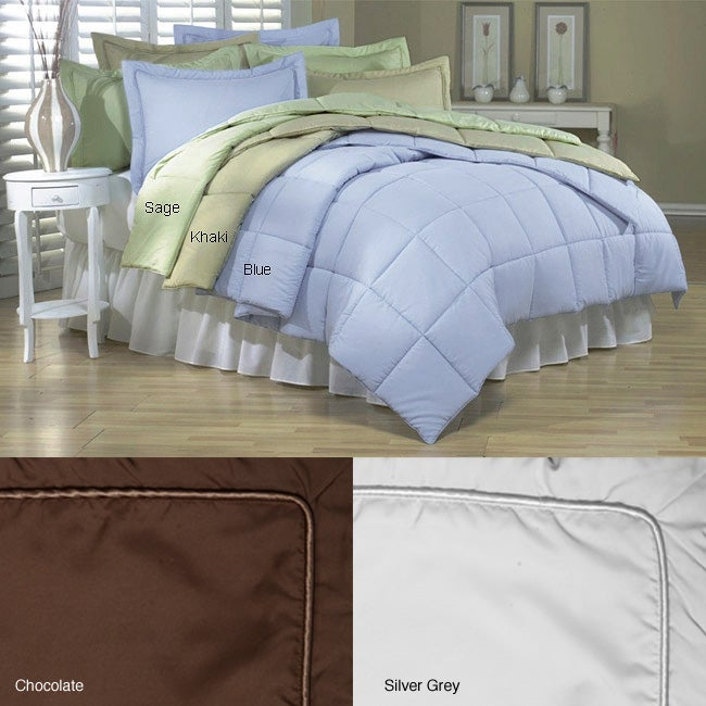 Microfiber Down Alternative Comforter