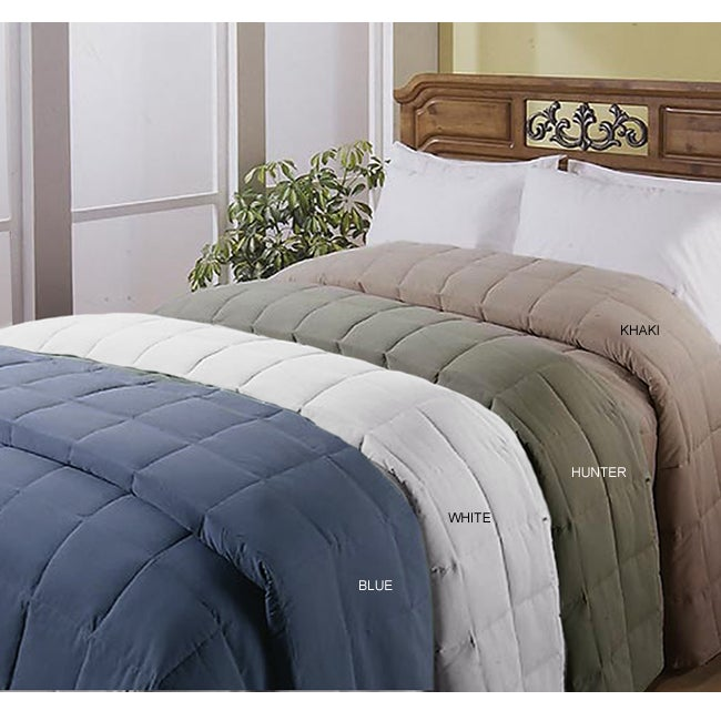 Microfiber Feather/ Down Blanket