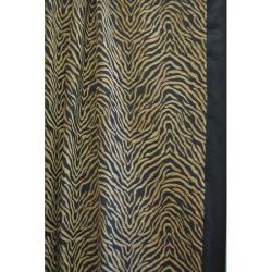 Modern Safari Shower Curtain