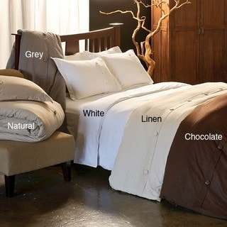 Modo Cotton 3-piece Duvet Cover Set