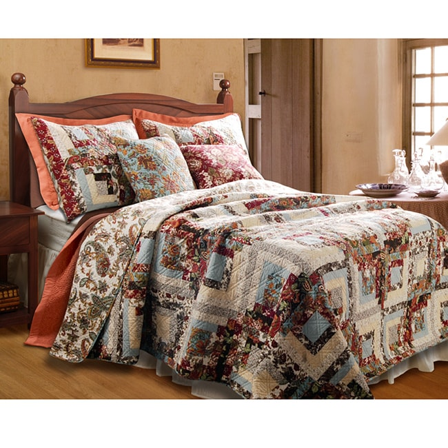 Greenland Home Fashions Montrose Quilted Throw