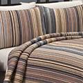'Morning Stripe' 3-Piece Quilt Set