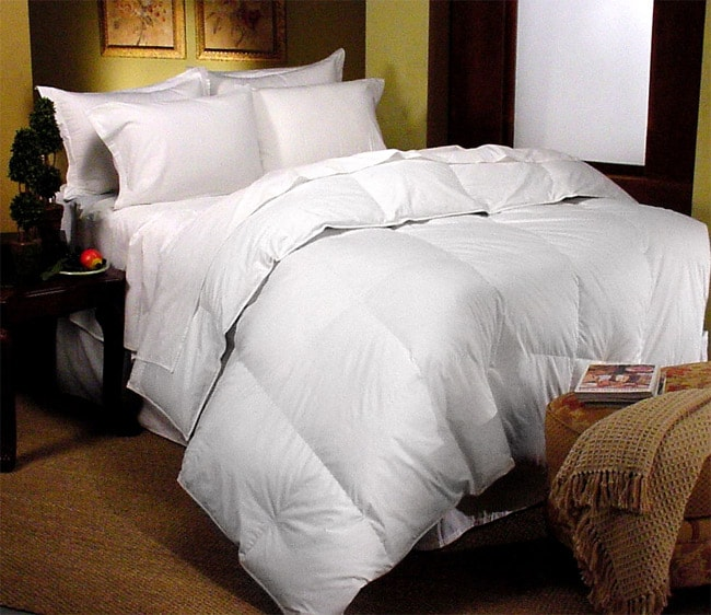 Oversized 370 Thread Count Supima Goose Down Comforter