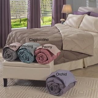 Oversized Reversible 300 Thread count Diamond Down Comforter