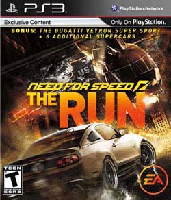 PS3 - Need For Speed: The Run - By Electronic Arts