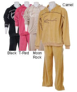 Karl Kani Men's Original Script Velour Hoody Set | Overstock com Shopping -  The Best Deals on Loungewear Tops
