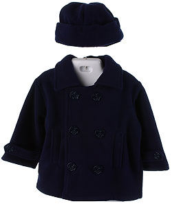 Good Lad Toddler Boy&39s Pea Coat - Free Shipping On Orders Over $45